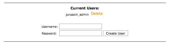 cerate database user success